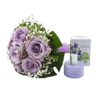 цветя и козметика