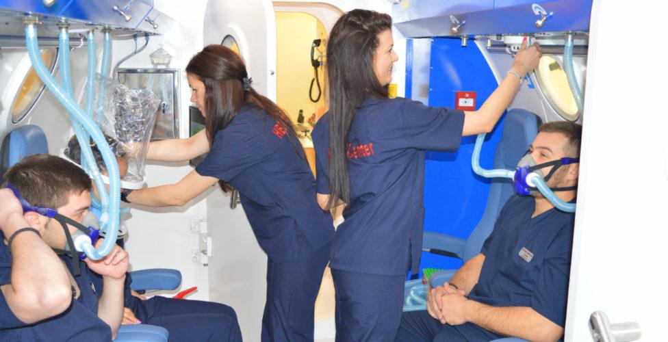 Терапия с кислород в барокамера – по-голям шанс за възстановяане на организма
