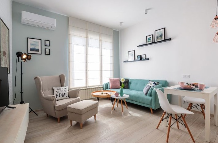 интериор на малък апартамент