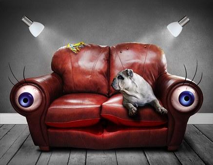 За ъгловия диван с любов…